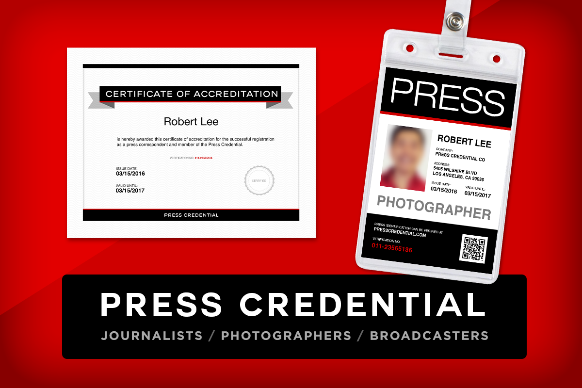 Media press pass template 28 images this will verify for Media press pass template